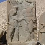 Delaminating herakles relief