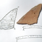 SIS; drawing of artefact