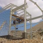 Installing gird crane