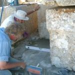 22-repairing-eroded-bedrock-under-statue