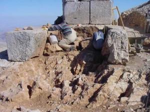 Doğu Terası'ndaki Heykellerin Kuzey Tarafları